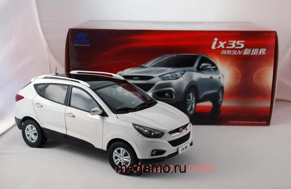 коллекционная модель hyundai ix35