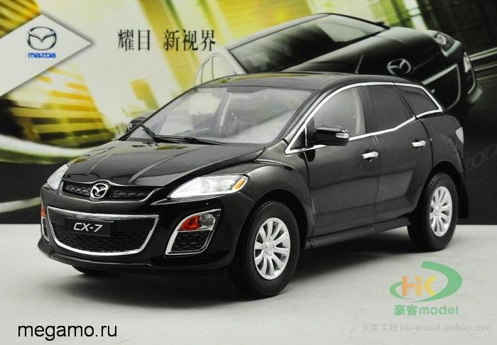 масштабные модели автомобиля mazda cx-7